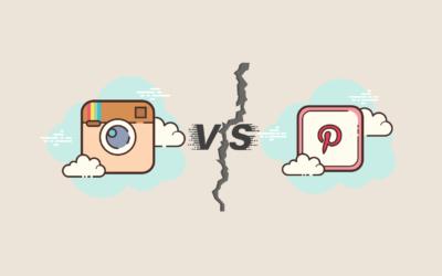 Instagram vs. Pinterest: Ein Vergleich der Giganten